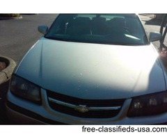 chevy Impala 2005 for sale