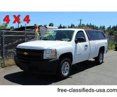 2012 Chevrolet K1500 Long Box Pickup Truck