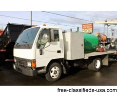 1995 Mitsubishi Fuso 10 Ft. Spray Truck