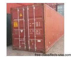 40'HC Tool & Equipment Storage Container