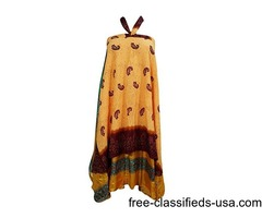 Womens Bohemian Wrap Around Skirt