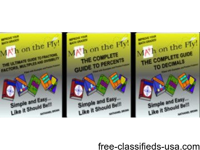 Math on the Fly (6 Books + 4 Free!) | free-classifieds-usa.com