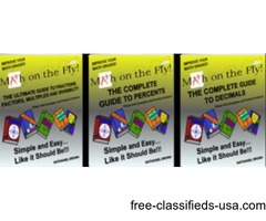 Math on the Fly (6 Books + 4 Free!)