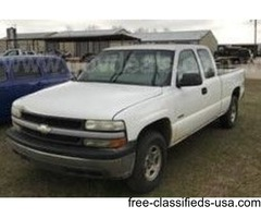 2002 Chevrolet Silverado 1500 Ext. Cab Long Bed 4WD