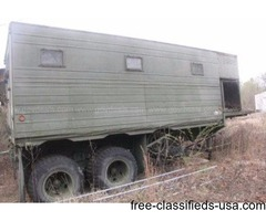 Semi Trailer Expandable Storage