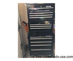 Craftsman Tool Chest Combo (3-PC 14 Drawers Black)