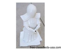 Porcelain Benihana Kendo Samurai