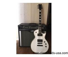 ESP LTD EC-1000T/CTM Custom Electric Guitar