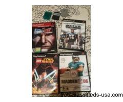 4 PLAYSTATION GAMES