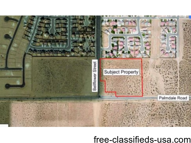 8.85 Acres in Adelanto Zoned Commercial | free-classifieds-usa.com