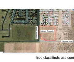8.85 Acres in Adelanto Zoned Commercial
