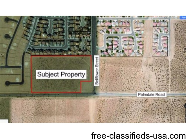 13.86 Acres in Adelanto Zoned Commercial | free-classifieds-usa.com