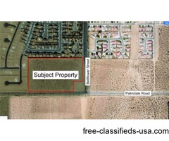 13.86 Acres in Adelanto Zoned Commercial
