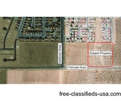 10 Acres in Adelanto Zoned Commercial