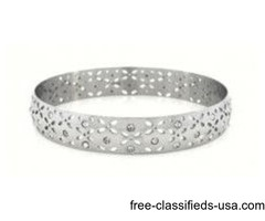 Shop online wholesale rates sterling silver rings at P&K Jewelry