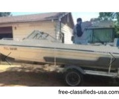 Chyrsler Boat and Trailer