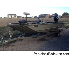 17' Tracker Grizzly Boat
