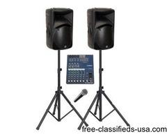 Wireless Mik and Sound Rental
