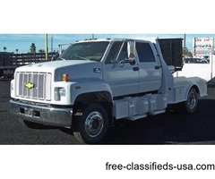 Chevrolet 6500, Cat Diesel, 89 K Miles, Western Hauler