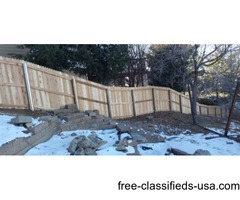 New Fence or need Repairs?