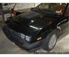 1986 Alpha Romeo GTV6