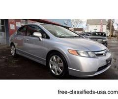 2008 Honda Civic LX 4dr Sedan 5A! ONLY 92K MILES