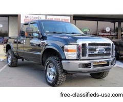 2008 Ford F-250 Super Duty XLT 4dr SuperCab 4WD SB