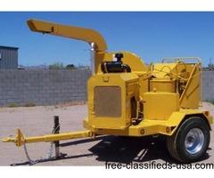 Vermeer 1250 Diesel Chipper