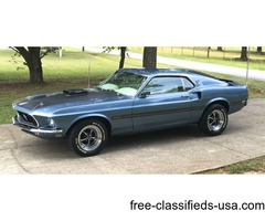 1969 Ford Mustang Mach 1 428 Cobra Jet | free-classifieds-usa.com