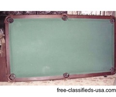 Mikerak pool table