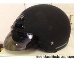 Safety Motorcycle helmet Pearl or black