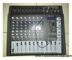 Sound barrier mx8.3 mixer console