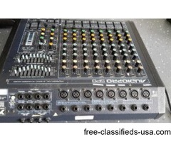 PRO PA SYSTEM Peavy Spkrs/ Yorkville powered mixer