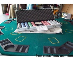 POKER TABLE PORTABLE