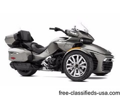 NEW 2017 Can-Am Spyder F3 Limited SE6 in Pure Magnesium stock