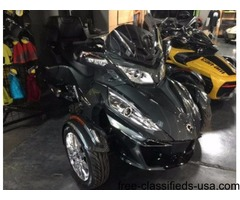 NEW 2017 Can-Am Spyder RT Limited SE6 Motorcycle in Asphalt Gray
