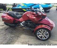 WAS $27,249.00! New 2016 Can-Am Spyder F3 Limited Motorcycle $21595