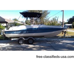 2013 Bayliner 215 Deck Boat – Very Low Hours (.20)