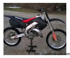 Two dirtbikes for sale