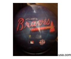 ATLANTA BRAVES BOWLING BALL