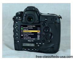 Nikon D4S 16.2 MP Digital SLR Camera