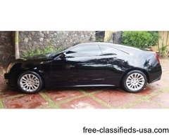 Cadillac, 2011, CTS Coupe