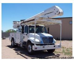 2005 International 55 Ft Bucket Truck