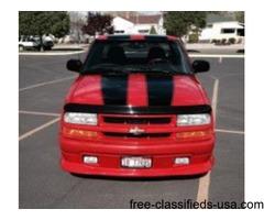2003 Chev S10 Extreme Pkg