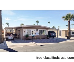 WHOAA Great Deal on Mobile in Yuma, AZ ONLY $11,600 in 55Plus Westward Village #25