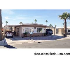 WHOAA Great Deal on Mobile in Yuma, AZ ONLY $11,600 in 55Plus Westward Village #25