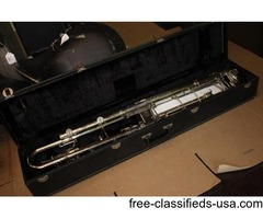 Leblanc Paperclip Contrabass Clarinet range to low c