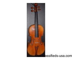 Custom made master violin Stradivari model 1721 excellent tone professional
