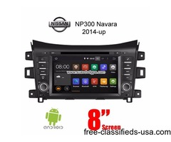 Nissan Navara NP300 Android Car Radio WIFI DVD GPS App camera