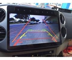VW Tiguan navigation Car radio GPS android 6.0 wifi camera 10.2inch